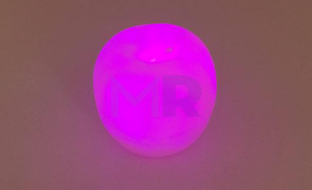 rozowe magentowe podswietlenie lampki