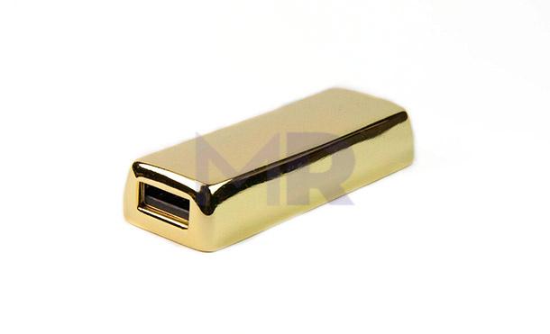 Pendrive w kształcie małej sztabki złota