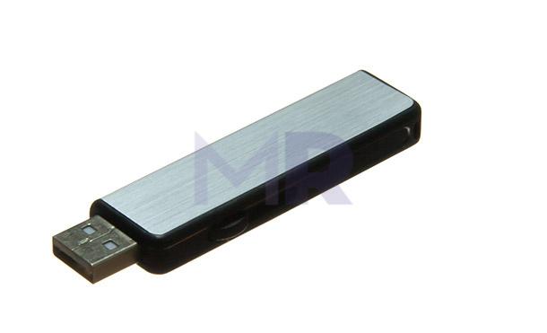 czarno-srebra pamięć USB