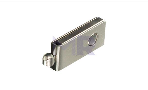 Srebrna mini pamięć USB