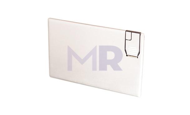 Pendrive zamknięty w aluminiowej karcie