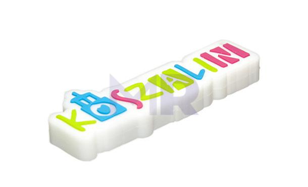 Pendrive reklamowy w kształcie firmowego logo