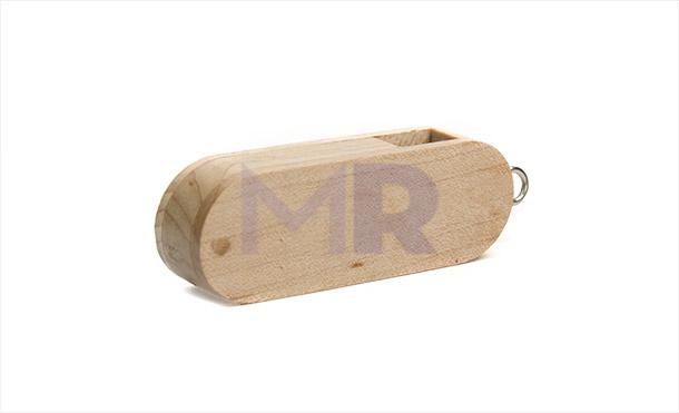 Drewniany pendrive twister
