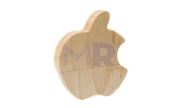 Pendrive o kształcie nadgryzionego jabłka