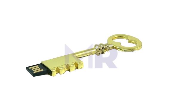 Pendrive w kształcie staromodnego klucza