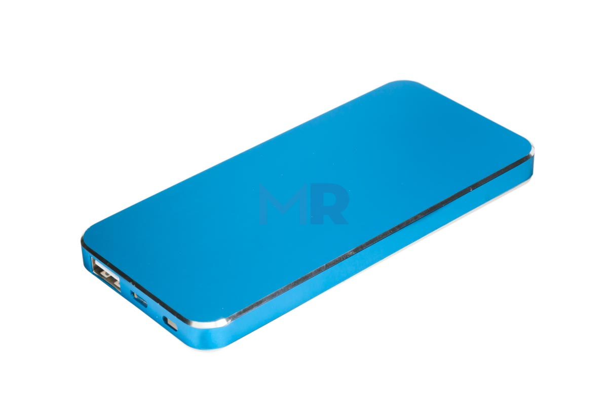 Blue&white powerbank