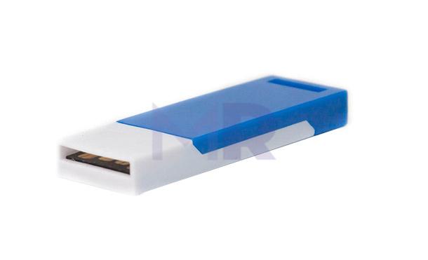 cienka dwukolorowa pamięć USB