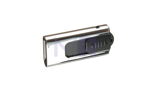 Mały pendrive z mechanizmem wysuwającym port USB