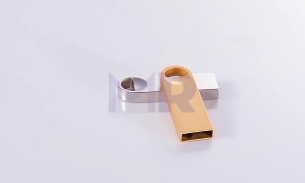 Mini USB z otworem dwa