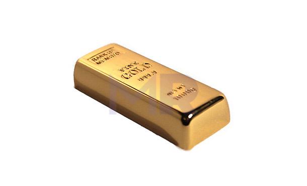 Pamięć USB w kształcie sztabki złota