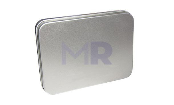 Metalowe minimalistyczne pudełko na pamięć USB