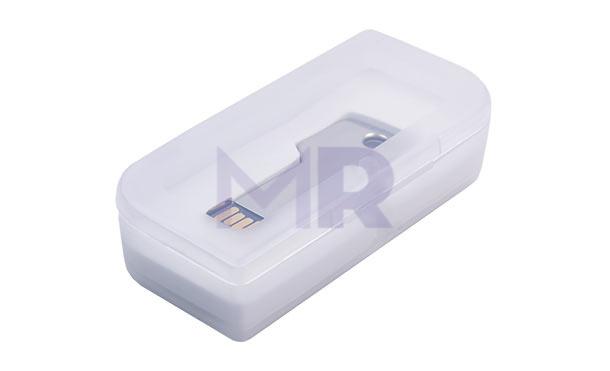 Pudełko z plastiku przeznaczone dla pendrive'ów
