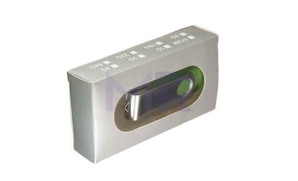Etui na pamięci USB z prześwitującym okienkiem